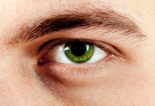 male green eyes