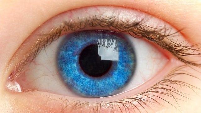 blue eyes bright