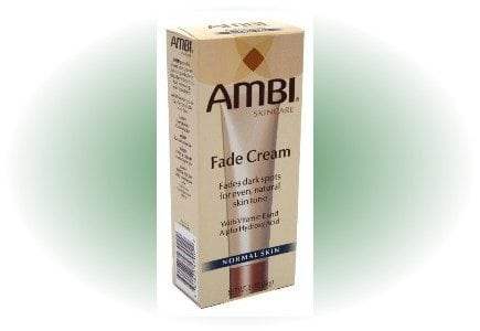 ambi fade cream dark spots face