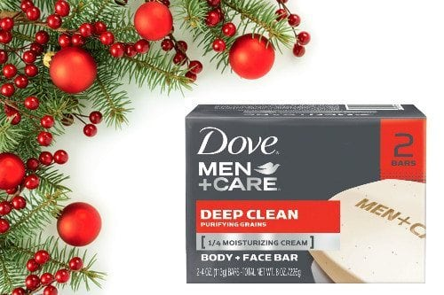 dove mens soap